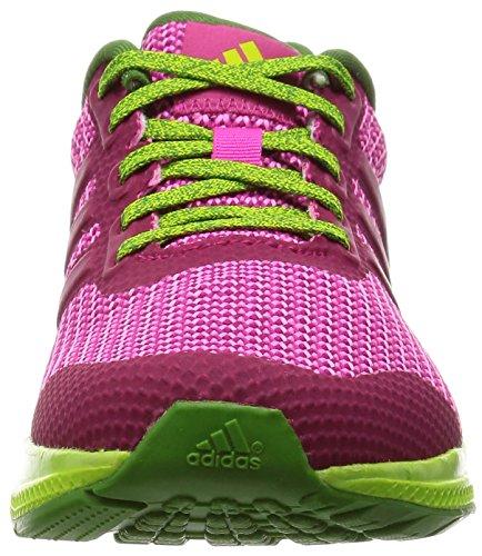 adidas Mana Bounce W, Chaussures de Running Entrainement Femme, Gris Rose (Bold Pink/Super Blush/Shock Pink)