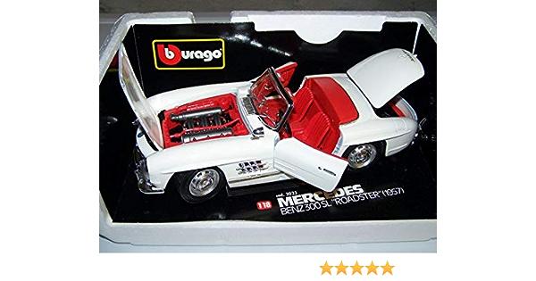 Bburago 3023 Mercedes Benz 300 Sl Roadster Spielzeug