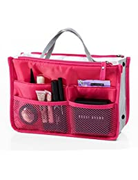 Orpio Multipocket Handbag Organizer , Travel Bag Make Up Organizer Bag Women Men Casual Travel Bag Multi Function...