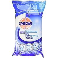 Sagrotan WC-Reinigungstücher, WC Reinigung, biologisch abbaubar, 7er Pack (7 x 60 Stück)