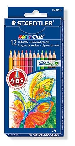 Staedtler 144 NC12 - Estuche 12 lápices color Noris Club
