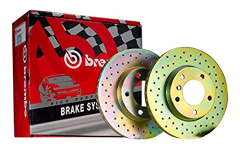 Brembo FD125000 Drilled Brake Disc