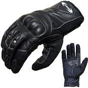 PROANTI 500183XXL, Motorradhandschuhe Sommer PROANTI Motorrad Handschuhe (Gr. XS - XXL, schwarz, kurz) - XXL