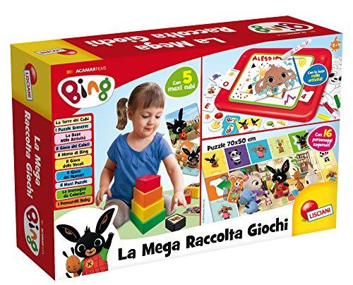 Lisciani Giochi - 76666 Juego para niños Bing Mega recolecta Juegos