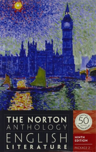 The Norton Anthology of English Literature: Package 2