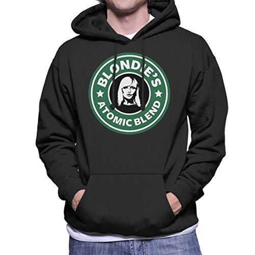 Blondies Atomic Blend Starbucks Logo Men's Hooded Sweatshirt Black