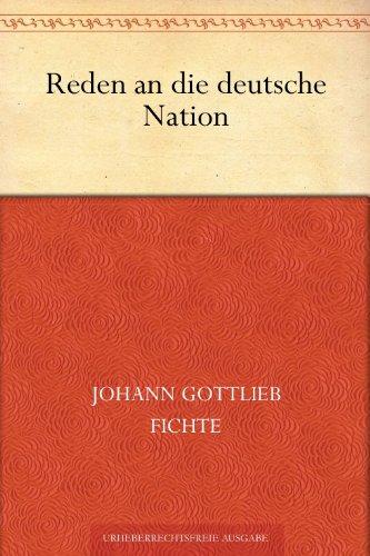 Reden an die deutsche Nation