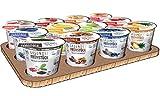 Gesundes Frühstück Cerealien und Fruchte, Glutenfrei Haferflocken und Obst - 100% Natural, Vegan, Glutenfrei, Laktosefrei Instant Frühstuck 12pack Mix karton