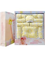 SHISHANG Ensemble de 20 pièces Ensemble de cadeaux pour bébés Boîte cadeau Boy Girl Cadeaux pour bébés pour 0-6Months Nouveau-né 100% coton Four Seasons Gift Bag Full Moon Gift Box , 5