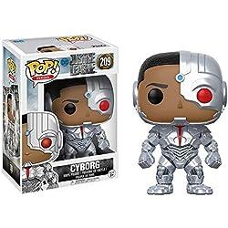 DC- Figura de Vinilo Cyborg, colección Justice League (Funko 13487)