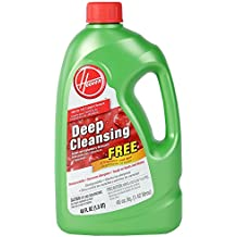 Hoover Deep Cleansing Carpet Cleaning Solution/Upholstery Detergent, Safe For All Carpet Cleaners, Fragrance Free 1.4 L