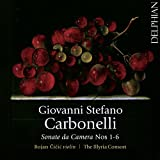 Carbonelli: Sonate Da Camera Nos 1-6