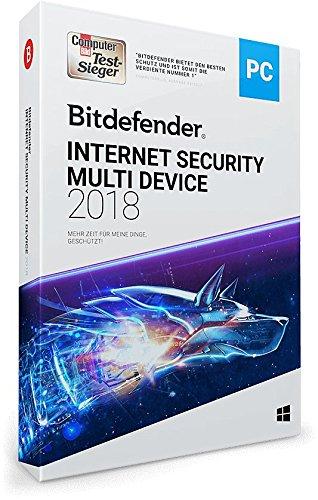 Bitdefender Internet Security Multi Device 2018 – 3 Geräte | 1 Jahr / 365 Tage (Windows) – Aktivierungscode