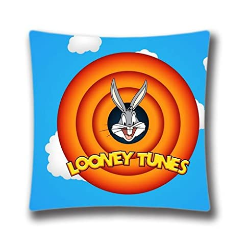 FlowerArtC9654-Looney Tunes Pillow Case 18 x 18 inch Decorative Cushion