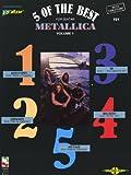 Metallica: 5 Of The Best - Volume 1. Partitions pour Tablature Guitare(Symboles d'Accords)...