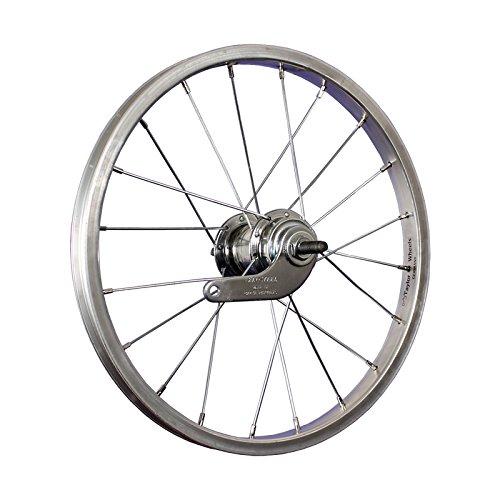 Taylor-Wheels 16 Zoll Hinterrad Alufelge/Velosteel Rücktritt - Silber