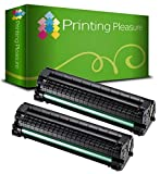 Printing Pleasure 2 Toner kompatibel zu MLT-D1042S für Samsung ML-1660 ML-1665 ML-1670 ML-1675 ML-1860 ML-1865 ML-1865W SCX-3200 SCX-3201 SCX-3205 SCX-3205W ML-1661 ML-1666 - Schwarz, hohe Kapazität