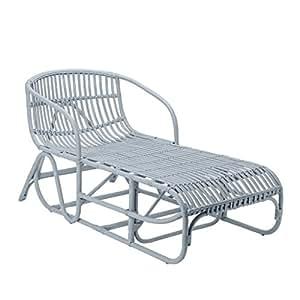 Bloomingville de chaise rétro en rotin clair