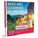 SMARTBOX - Coffret Cadeau - WEEK-END GOURMAND EN AMOUREUX - 800 SÉJOURS : Hôtels de charme, maisons traditionnelles et demeures de caractère