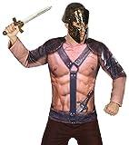 Atosa - Camiseta 3D Gladiador, M-L (29769)