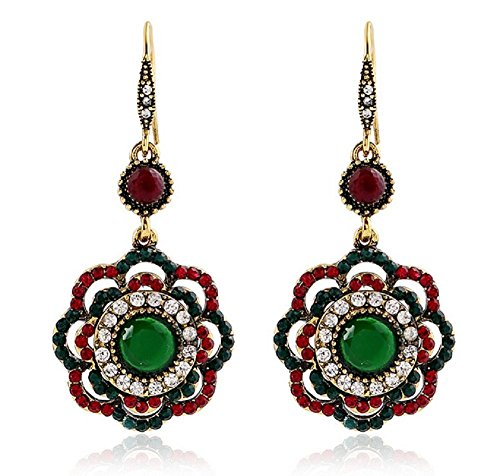 fletion-vintage-boho-ethnic-flower-dangle-drop-earrings-hollow-out-gold-alloy-artificial-gemstone-em