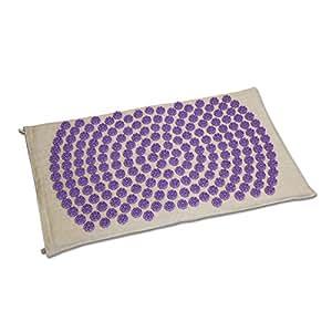 Tapis Fleur de Vie Shantimat - - 3 couleurs disponibles (Violet)
