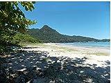 Zopix Poster Zwei Flüsse Ilha Grande Rio Sol Wandbild - Premium (60x40 cm, Versch. Größen) - Leinwand Alternative - Inklusive Poster-Stripes
