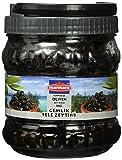 Marmara Schwarze Sele Gemlik Oliven, Kaliber Efsane, im PET Behälter, 2er Pack (2 x 700 g)