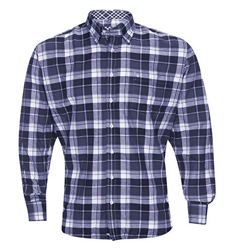 Ben Green Mens Cotton Country Style Casual Long Sleeve Shirt