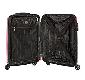 WITTCHEN Wheeled Suitcase, Hand Luggage, Cabin Case, 55X38X20cm, 29 Liters, Small Size, Cabin Luggage, Hardside Luggage, Polypropylene, pink, 56-3T-721-77