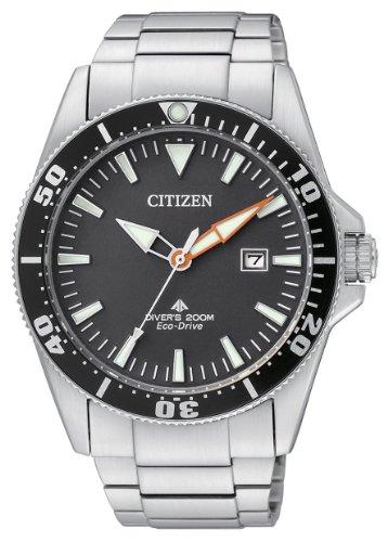 Citizen-BN0100-51E-Reloj-analgico-de-cuarzo-para-hombre-correa-de-acero-inoxidable-multicolor