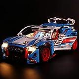 Searchyou LED Kit Lumières pour Lego 42077 - Technic - La Voiture de Rallye(Non Inclus Le modèle Lego)