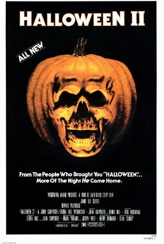 Halloween 2: The Nightmare Isn't Over! Movie Poster (11 x 17 Inches - 28cm x 44cm) (1981) Style A -(Jamie Lee Curtis)(Donald Pleasence)(Jeffrey Kramer)(Charles Cyphers)(Lance Guest) by MG Poster (Halloween Pleasence)