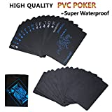 joyoldelf 54Pcs Cartes Poker en PVC Étanche, Carte à Jouer avec Boîte Cadeau Jeux de Poker pour Fête de la Famille, Barbecue, Noël, Le Meilleurs Cadeaux