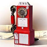 Max Home@ Vintage telefono creativo di manopola rotativa antico europeo Phone Home Fashion moderne di telefonia immagine