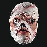 Masque en latex de momie sanglante [1135]