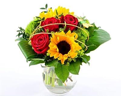 Blumenversand - Blumenstrauß - zum Geburtstag - mit Sonnenblumen - mit Gratis - Grußkarte zum Wunschtermin versenden von Der Renner - Blumenversand - Du und dein Garten