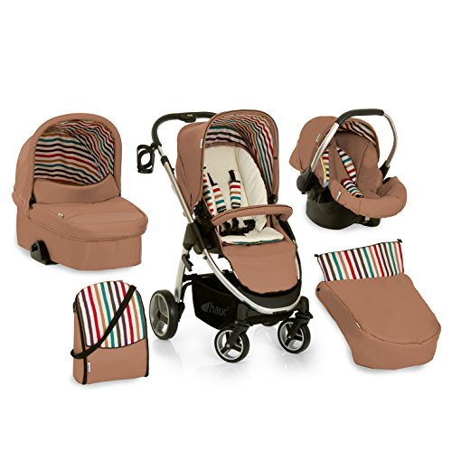 Hauck 143575 Lacrosse All in One, Trio Passeggino, Beige