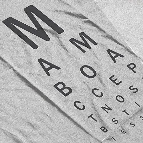 Mambo Eye Test Women's Hooded Sweatshirt Heather Grey