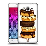 Head Case Designs Stapel Doughnuts Ruckseite Hülle für Samsung Galaxy Grand Prime