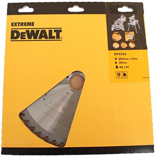 DeWalt DT4323-QZ - Hoja para sierra circular estacionaria, 250 x 30 mm