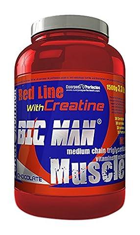 Perfect Nutrition Red Line Big Man Complément Alimentaire Chocolat 1.50 kg