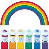 Colorantes alimentarios Wilton en edición especial arco iris (6 x 28 g)