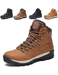 d125f1738e74 SIXSPACE Winterstiefel Warm Gefütterte Winterschuhe Outdoor Schneestiefel  Winter Boots für Herren Damen