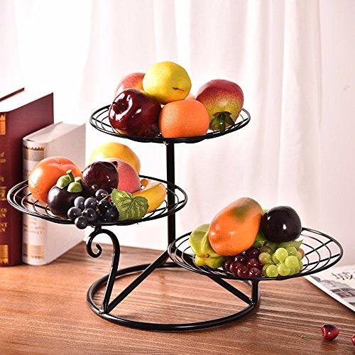 Grande Assiette de fruits double rectangulaire en plastique du bac bac de vidange panier plateau de coupe d'Europe la coupe de fruits noirs,bac