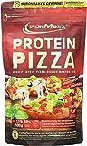 IronMaxx Protein Pizza – Backmischung mit 48% Eiweiß und nur 22% Kohlenhydraten – Low Carb, High Protein – Zubereiten zu Flammkuchen, Chips, Knäckebrot oder Pizza – Unterstützt Muskelaufbau – 1x500g