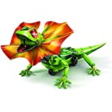 BABY N TOYYS DIY Self Assemble Interactive Robotic Frilled Lizard Toy with Infrared Sensor (Green)