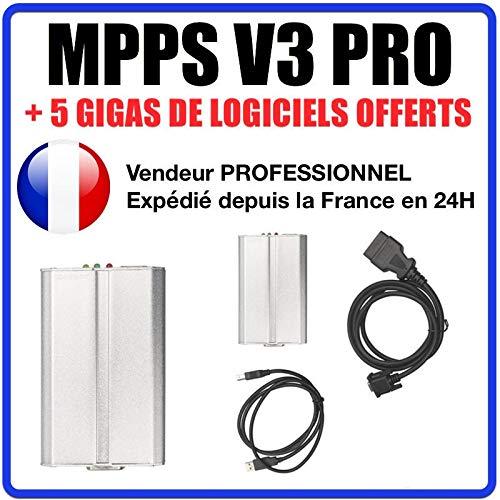 MISTER DIAGNOSTIC MPPS SMPS v16 - Reprogramación ECU cartografía Motor  antiarranque FAP OBD2