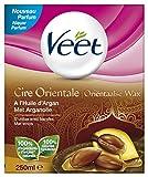 Veet - Cire d'épilation Orientale aux Huiles Essentielles - jambes et corps - 250 ml