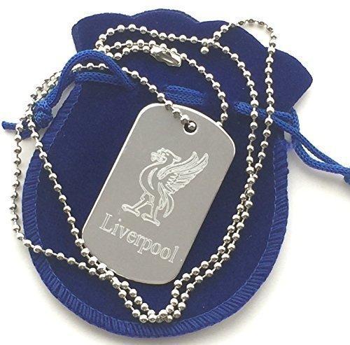 Liverpool Uccello Del Fegato Personalizzato Alluminio Militari Dell'esercito Dog Tag A sospensione (T64)